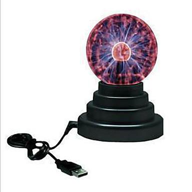 1 db LED éjszakai fény USB AkkumulátorBattery Üveg 1 Lámpa 11.0*11.0*15.0cm