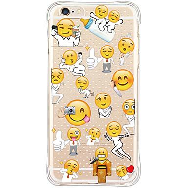 Mert iPhone 6 tok / iPhone 6 Plus tok Ütésálló / Vízálló Case Hátlap Case Csempe Puha TPU AppleiPhone 6s Plus/6 Plus / iPhone 6s/6 /
