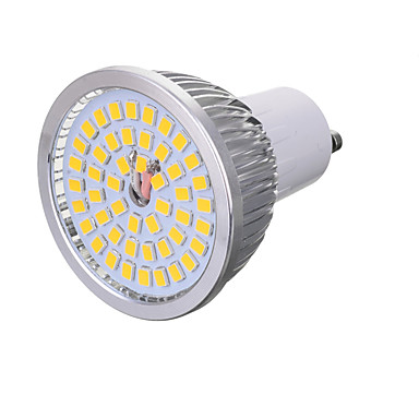 GU10 LED 스팟 조명 T 48 LED가 SMD 2835 장식 따뜻한 화이트 차가운 화이트 300-400lm 3000/6000K AC 85-265V