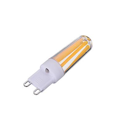 1db 200-300 lm G9 Izzószálas LED lámpák T 4 led COB Tompítható Dekoratív Meleg fehér Hideg fehér AC 220-240V