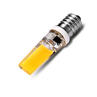 550-600 lm E14 LED kukorica izzók T 2*COB led COB Dekoratív Meleg fehér AC 220-240V