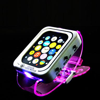 LED világítás Játékok Négyzet 1 Darabok Újév Születésnap Gyermeknap Ajándék