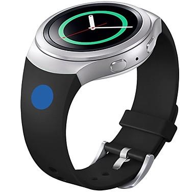 puha szilikon csere sport sáv Samsung fogaskerék s2 intelligens karóra (kék rózsaszín pont)