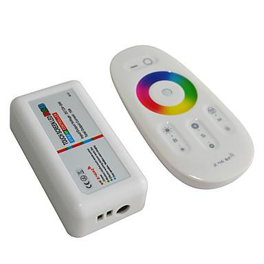 jiawen의 2.4 무선 RGB는 (12-24V DC) 컨트롤러 터치 스크린 RGB 제어 시스템을 주도