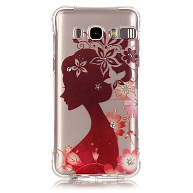 Silhouette Girl Pattern TPU Popular Brands Calling Flash