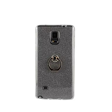 용 Samsung Galaxy Note 링 홀더 케이스 뒷면 커버 케이스 글리터 샤인 소프트 TPU Samsung Note 5 / Note 4 / Note 3