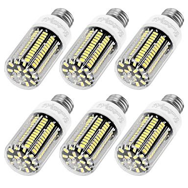 E12 E26/E27 LED 콘 조명 T 136 LED가 SMD 5733 장식 따뜻한 화이트 차가운 화이트 1100lm 3000/6000K AC 110-130V