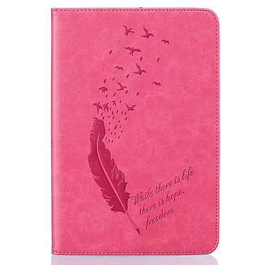 풀 바디 지갑 / 카드 홀더 / Other 깃털 인조 가죽 소프트 Embossed leather 케이스 커버를 들어 Apple iPad Air 2