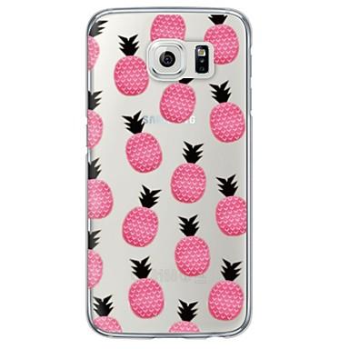 Mert Samsung Galaxy S7 Edge Átlátszó / Minta Case Hátlap Case Gyümölcs Puha TPU SamsungS7 edge / S7 / S6 edge plus / S6 edge / S6 / S5 /
