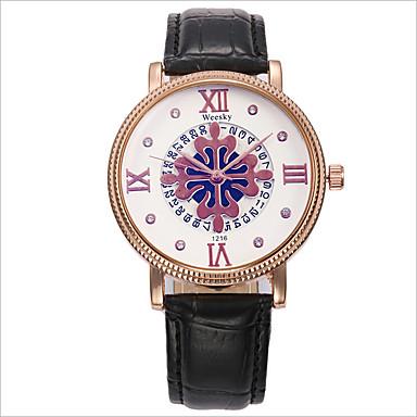 아가씨들 패션 시계 캐쥬얼 시계 석영 합금 밴드 블랙 브라운