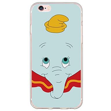 제품 아이폰6케이스 아이폰6플러스 케이스 케이스 커버 울트라 씬 패턴 뒷면 커버 케이스 코끼리 소프트 TPU 용 Apple iPhone 6s Plus iPhone 6 Plus iPhone 6s 아이폰 6 iPhone SE/5s iPhone 5