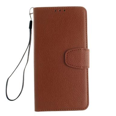 Case Kompatibilitás OnePlus Egy Plus 3 One Plus OnePlus tok Kártyatartó Állvánnyal Flip Héjtok Tömör szín Kemény PU bőr mert One Plus 3