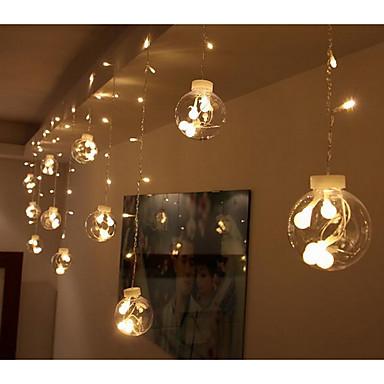 eu plug csillagok 220v 12led kreatív kis izzó string fények kiváló minőségű