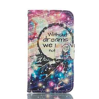 Kılıf Na Samsung Galaxy Samsung Galaxy Etui Etui na karty Portfel Z podpórką Flip Pełne etui Łapacz snów Miękkie Skóra PU na Grand Prime