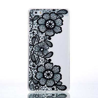 용 화웨이 케이스 / P9 / P9 Lite / P8 Lite 투명 / 패턴 케이스 뒷면 커버 케이스 꽃장식 소프트 TPU Huawei 화웨이 P9 / 화웨이 P9 라이트 / Huawei P8 Lite