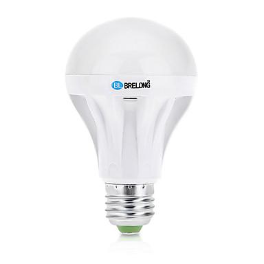 7 E26/E27 LED gömbbúrás izzók A60(A19) 27 SMD 2835 550 lm Meleg fehér / Hideg fehér Dekoratív AC 220-240 V 1 db.