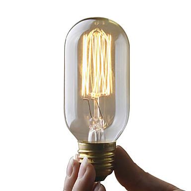 UMEI™ 1pc 40W E27 E26 / E27 T45 2300k Incandescent Vintage Edison Ampul 220-240V