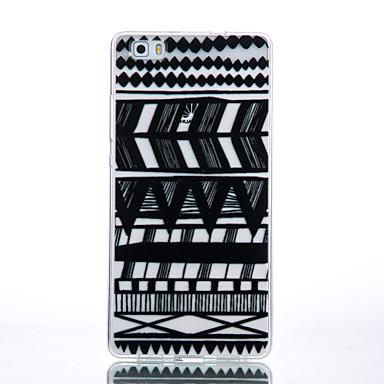 용 화웨이 케이스 / P9 / P9 Lite / P8 Lite 투명 / 패턴 케이스 뒷면 커버 케이스 라인 / 웨이브 소프트 TPU Huawei 화웨이 P9 / 화웨이 P9 라이트 / Huawei P8 Lite