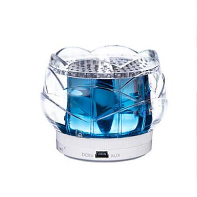 크리스탈 연꽃 스피커 상자 실내 침대 머리맡 램프 야간 조명은 전화 크리스마스 빛 제어 블루투스 터치