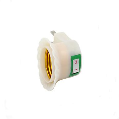 мы подключить питание переменного тока e27 светодиодные лампы гнездо адаптера (220v)