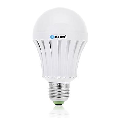 BRELONG® 9W 800lm E26 / E27 LED gömbbúrás izzók A60(A19) 18 LED gyöngyök SMD 5730 Hideg fehér 85-265V