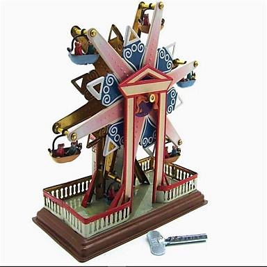 태엽 장난감 스트레스 해소 제품 장난감 오피스 / 비즈니스 노블티 원형 풍차 유명한 빌딩 철 메탈 빈티지 레트로 1 조각 크리스마스 생일 어린이날 선물