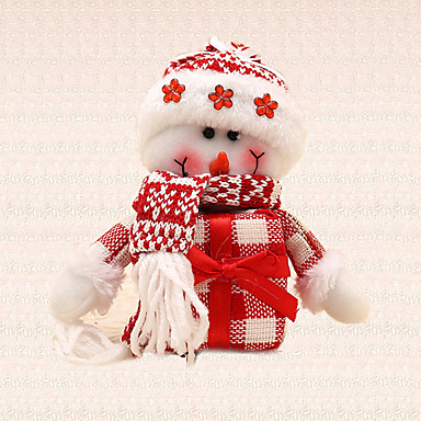 1db ajándék hóember medál karácsonyfa díszítés varázsa otthoni szabadtéri fesztivál party kellékek