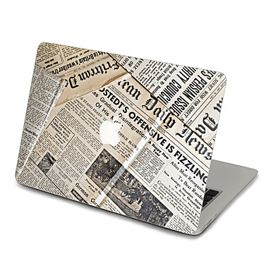 1 db Tok matrica mert Karcolásvédő Fekete és fehér Ultravékony Matt PVC MacBook Pro 15'' with Retina MacBook Pro 15 '' MacBook Pro 13''