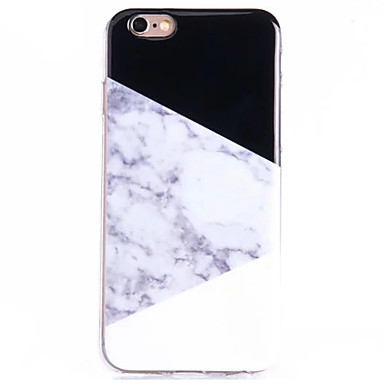 Case For Apple iPhone 8 iPhone 8 Plus iPhone 5 Case iPhone 6 iPhone 6 Plus Pattern Back Cover Marble Soft TPU for iPhone 8 Plus iPhone 8