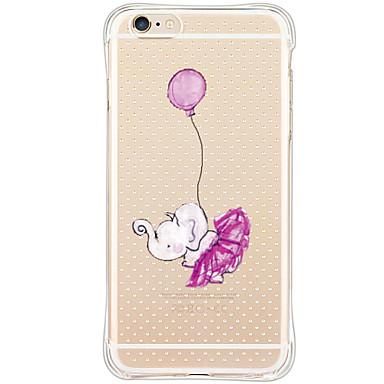 용 아이폰6케이스 / 아이폰6플러스 케이스 충격방지 / 방진 / 패턴 케이스 뒷면 커버 케이스 코끼리 소프트 TPU Apple iPhone 6s Plus/6 Plus / iPhone 6s/6 / iPhone SE/5s/5