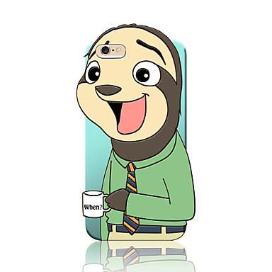 Mert iPhone 6 tok / iPhone 6 Plus tok Ütésálló Case Hátlap Case 3D rajz Puha Szilikon Apple iPhone 6s Plus/6 Plus / iPhone 6s/6