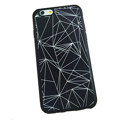 Case For Apple iPhone 6 iPhone 6 Plus Other Back Cover Geometric Pattern Soft Silicone for iPhone 6s Plus iPhone 6s iPhone 6 Plus iPhone