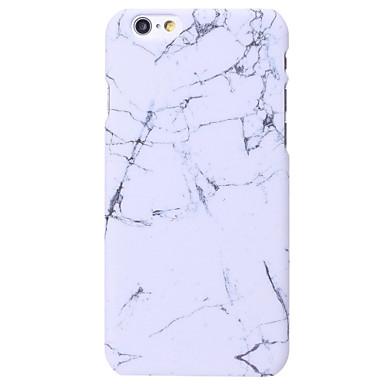 Kılıf Na Apple iPhone X iPhone 8 iPhone 6 iPhone 6 Plus Other Czarne etui Marmur Twarde PC na iPhone X iPhone 8 Plus iPhone 8 iPhone 6s