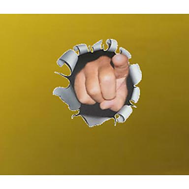 3D 벽 스티커 플레인 월스티커 데코레이티브 월 스티커,PVC 자료 이동가능 / 재부착가능 홈 장식 벽 데칼