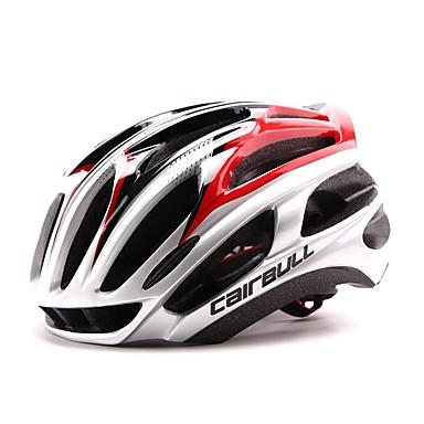 자전거 헬멧 24 통풍구 CE / CE EN 1077 인증 조절가능, 울트라 라이트 (UL), 스포츠 PC, EPS 사이클링 / 자전거 / 산악 자전거 레드 / 그린 / 블루