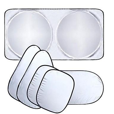 voordelige Oogbescherming-autoruit zonnescherm auto voorruit vizier cover blok voorruit zonnescherm uv beschermen autoruit film 6 stks / set