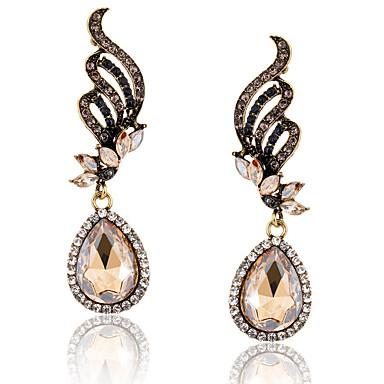 Női Függők Luxus Divat Európai Hamis gyémánt Ötvözet Mások Lógó Szárnyak / Toll Ékszerek Napi Hétköznapi