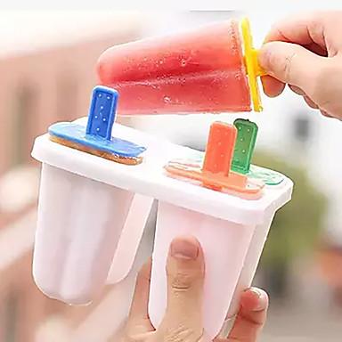 4 크리 에이 티브 주방 가젯 플라스틱 아이스크림 도구