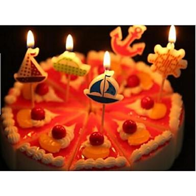 촛불 답례품 생일 파티 액세서리 클래식 테마 1Piece / 설정