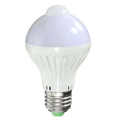 5W B22 E26/E27 LED 스마트 전구 A90 5 LED가 고성능 LED 센서 적외선 센서 따뜻한 화이트 150-200lm 2000-3500K AC 85-265V