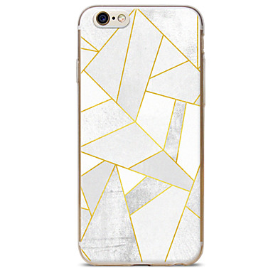 Kompatibilitás iPhone X iPhone 8 iPhone 6 iPhone 6 Plus tokok Minta Hátlap Case Márvány Puha Hőre lágyuló poliuretán mert Apple iPhone X