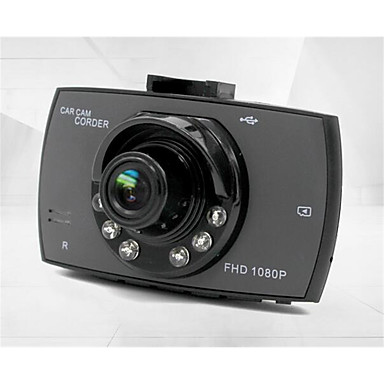 g30 1080p / Full HD 1920 x 1080 Autós DVR 120 fok Nagylátószögű 4.3 hüvelyk Dash Cam val vel Night vision / Hurokciklus rögzítése Autós