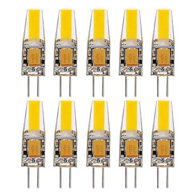 1.5W G4 LED betűzős izzók T 1 led COB Vízálló Dekoratív Meleg fehér Hideg fehér Természetes fehér 150-200lm 3000-6000K Akkumulátor DC 12