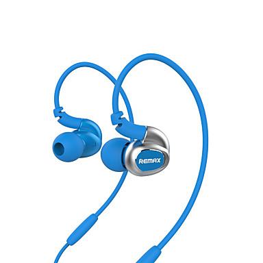 Remax RM-S1 Fülben Fülkampó Vezetékes Fejhallgatók Dinamikus Műanyag Sport & Fitness Fülhallgató Zajszűrő Mikrofonnal Fejhallgató