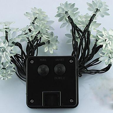 1pc led szolár otthon szabadban díszít 5m 20dip string fények