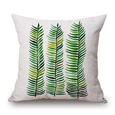 szt Cotton / Linen Pokrywa Pillow, Wzory graficzne Martwa natura Textured Na co dzień Akcent / Decorative Modern / Contemporary