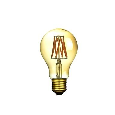 1szt 300-500 lm E26 / E27 Żarówka dekoracyjna LED A50 6 Koraliki LED COB Przysłonięcia / Dekoracyjna Ciepła biel 220-240 V / 1 sztuka