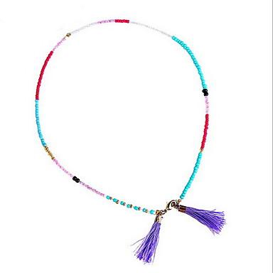 Női Bőr Imádni való Bohém Mások Elbűvölő karkötők / szövőszék karkötő / Strand Karkötők - Bohém / Barátság / Kézzel Készített Circle Shape