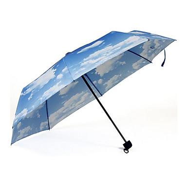 블랙 접는 우산 써니와 비오는 메탈 / Plastic 레이디 / 남성