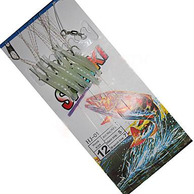 Halászat-1 db-Fénylő Szilícium Szénszálas acél-Tengeri halászat Csalidobó Léki horgászat Folyóvíz horgászat Általános horgászat